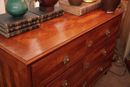 inlay commode top