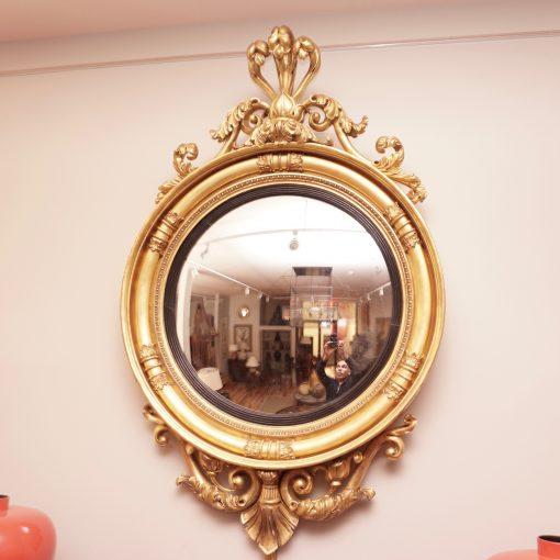 Regency convex mirror1