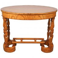 Biedermeier Oval Table