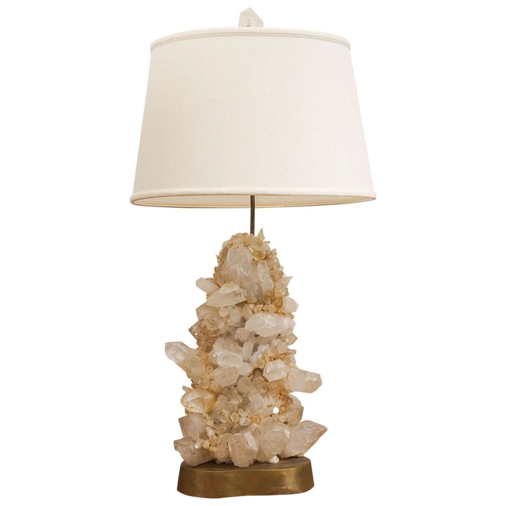 Carole stupell rock crystal lamp
