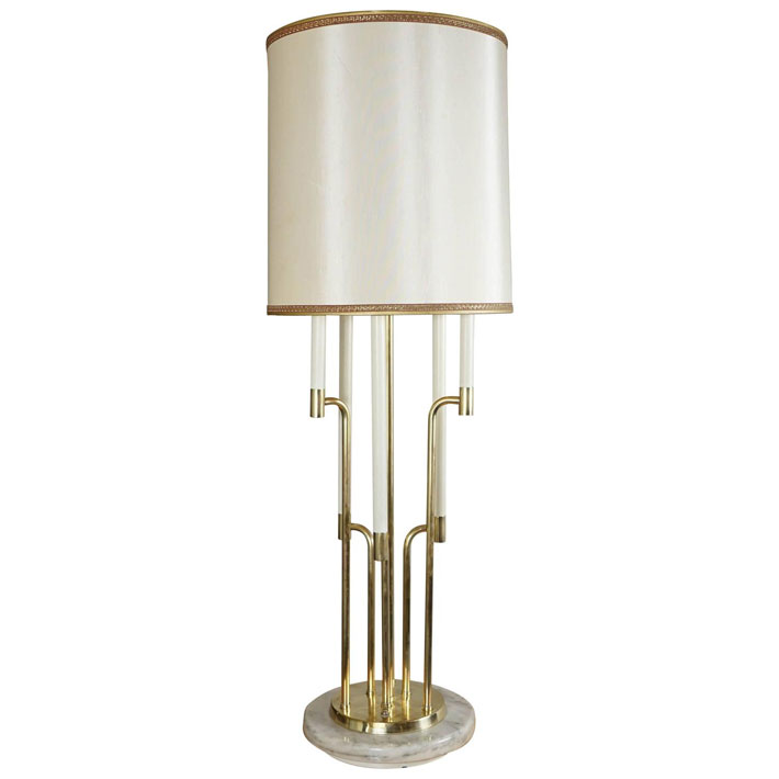 Brass-plated Table Lamp