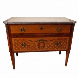 Fruit wood chest