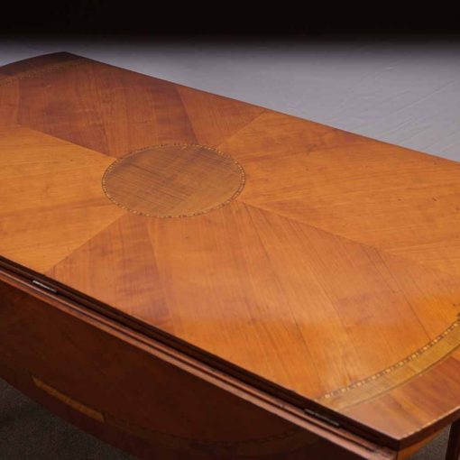 cherry wood table center