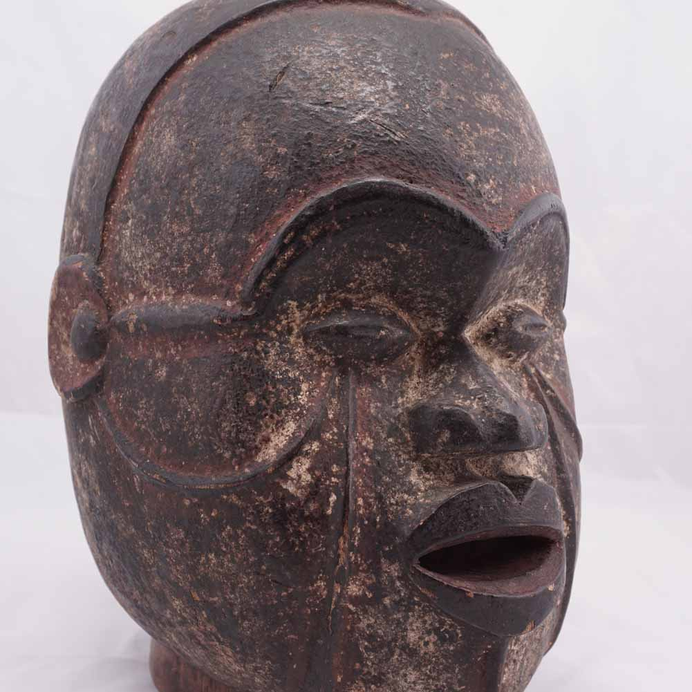 African mask detail