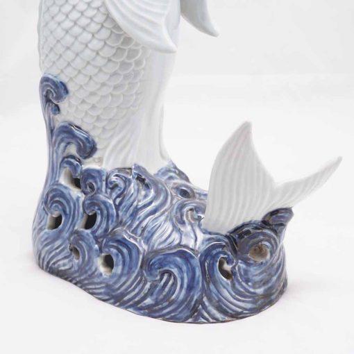Porcelain carp
