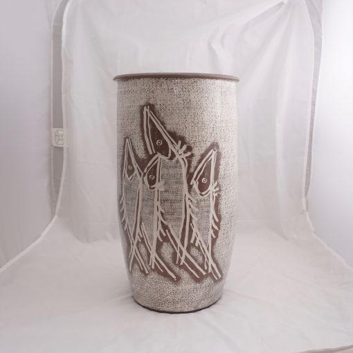 Studio pottery signed