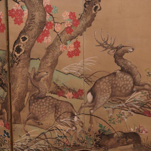 Meiji Japanese screen1