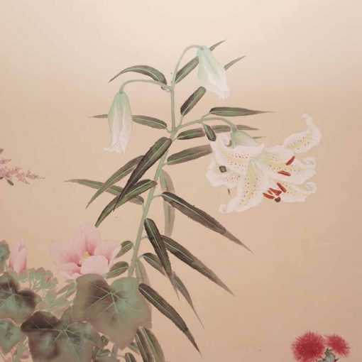 Flower taisho byobu1
