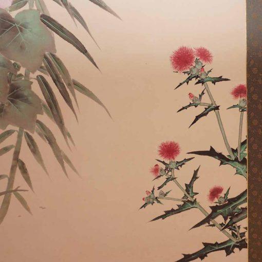 Flower taisho byobu3