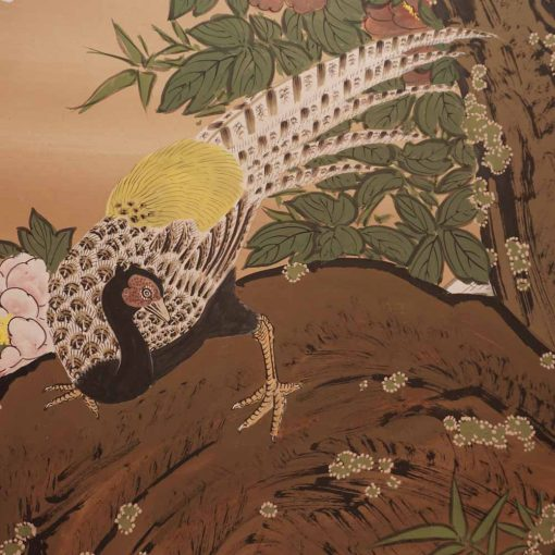 Japanese six panel screen5