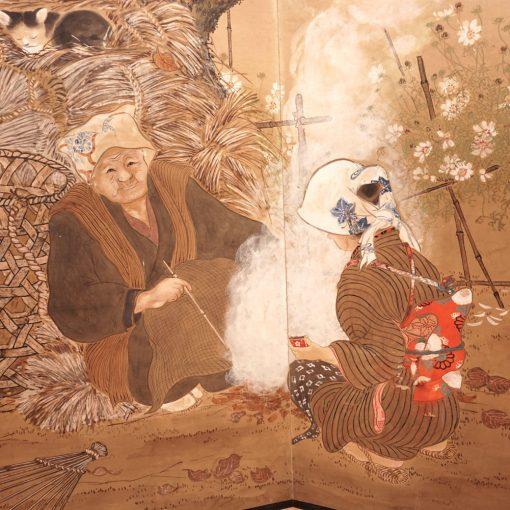 20th century Japanese screen3