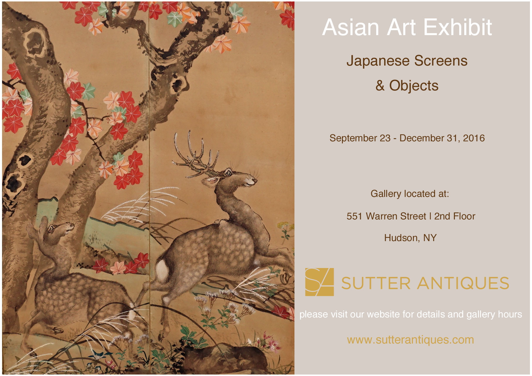 Asian art exhibition