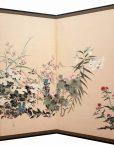 Flower taisho byobu