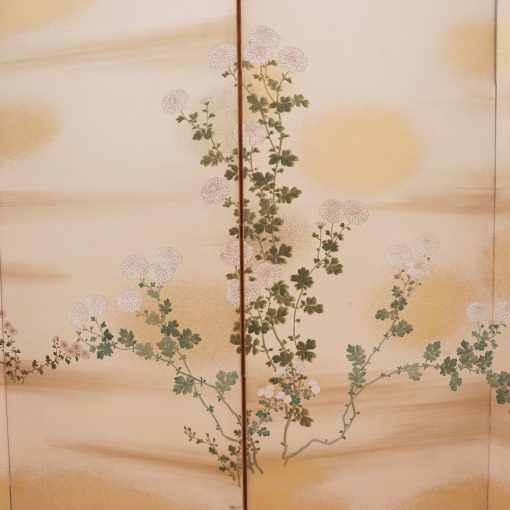Four panel taisho screen2