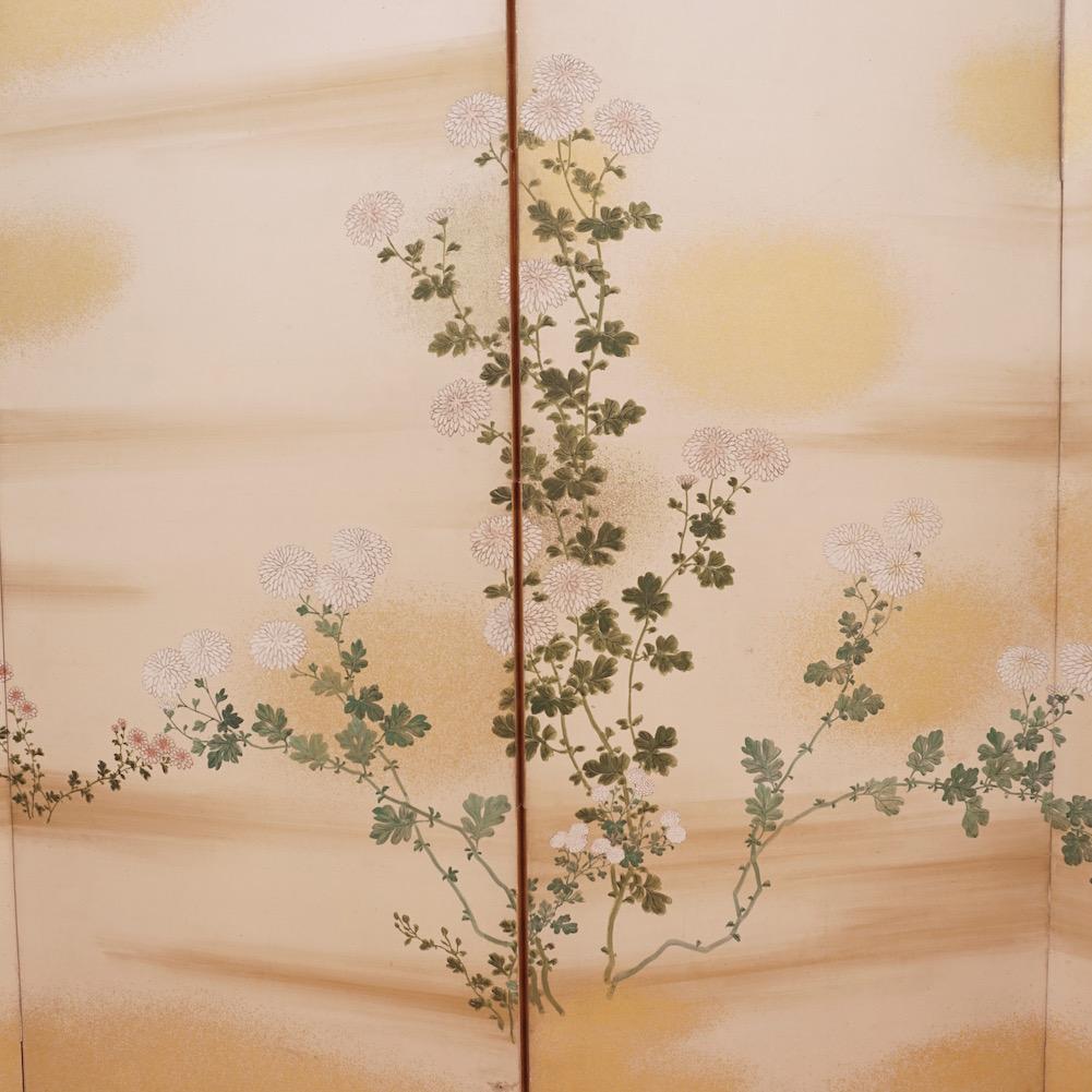 Four panel taisho screen2