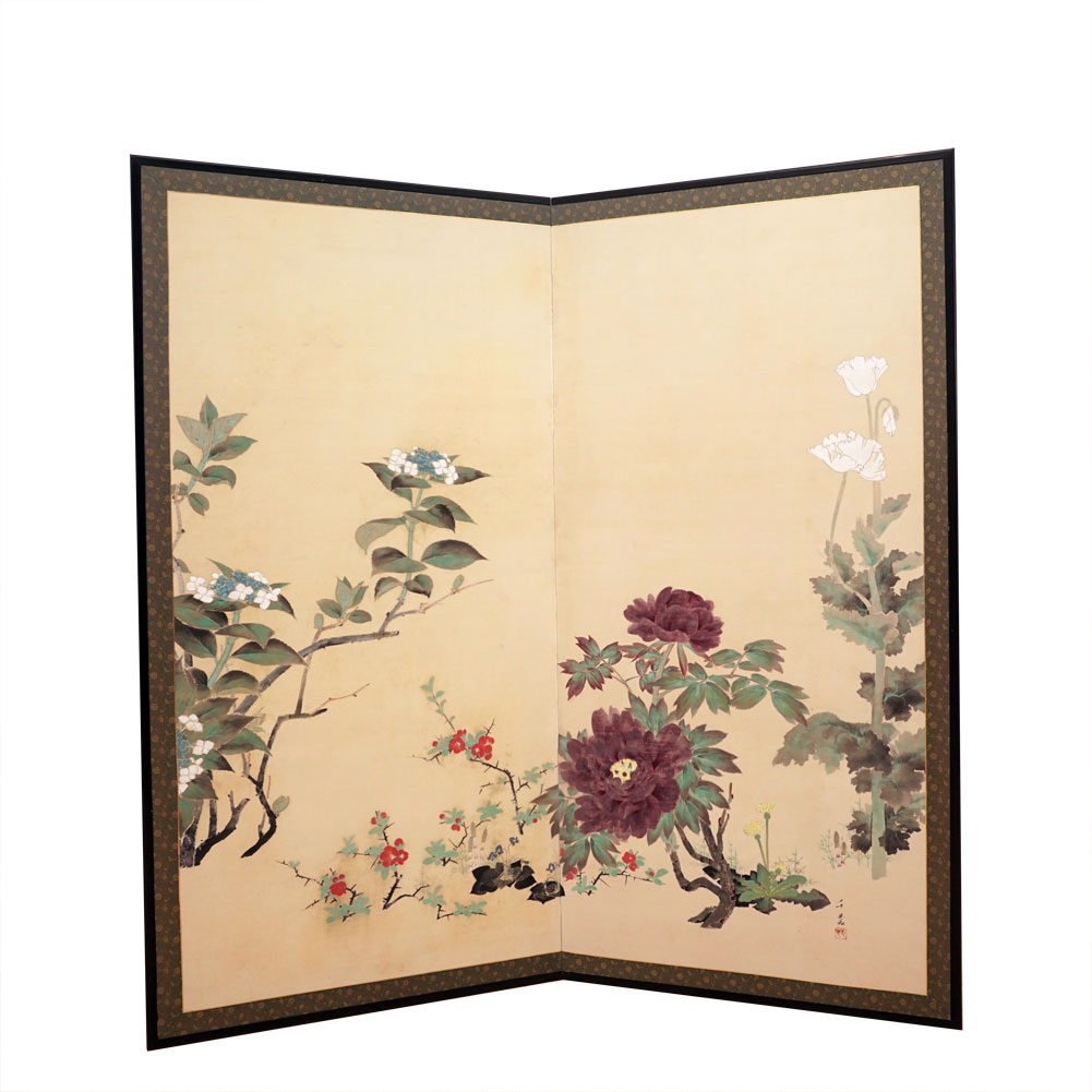 Two_panel_flower_screen