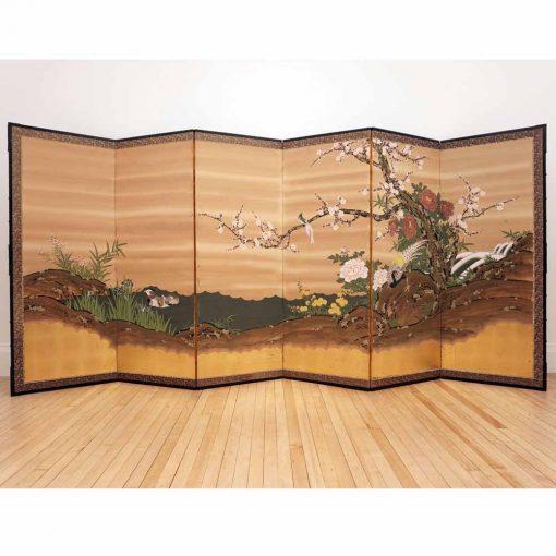 Japanese six panel screen1