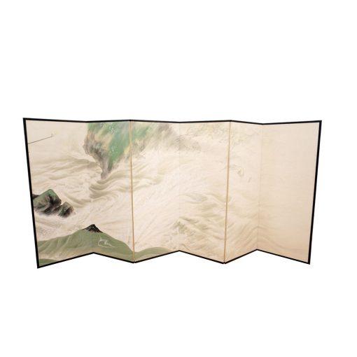 Taisho six fold screen