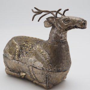 stag silver box