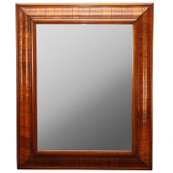 olive wood mirror