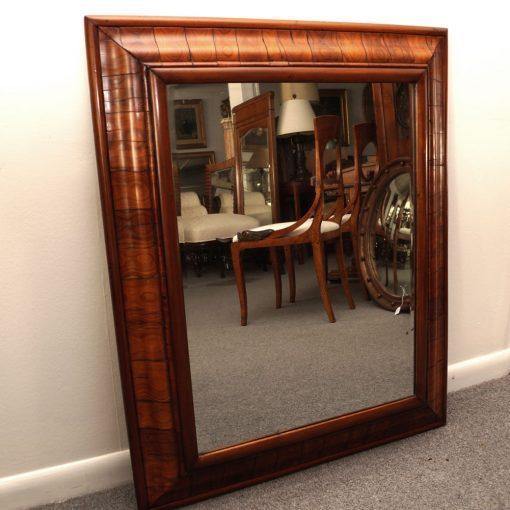 Olive wood mirror 3