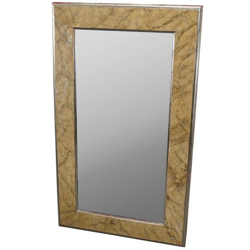 painted mirror frame