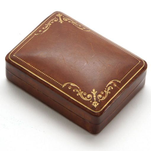 antique leather box