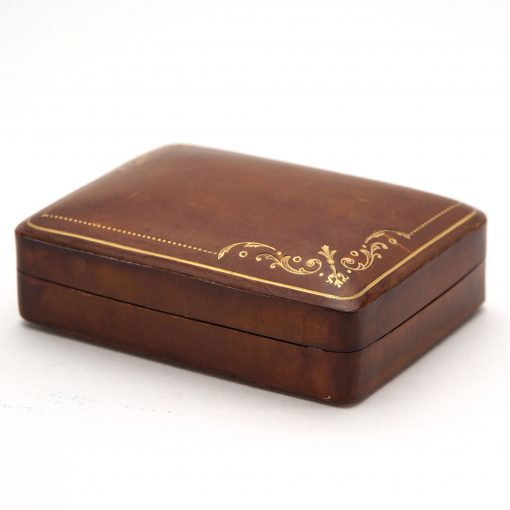 antique leather box2