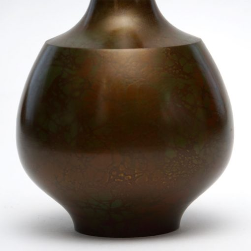 bronze Japan vase3