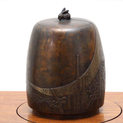 bronze tea caddy5