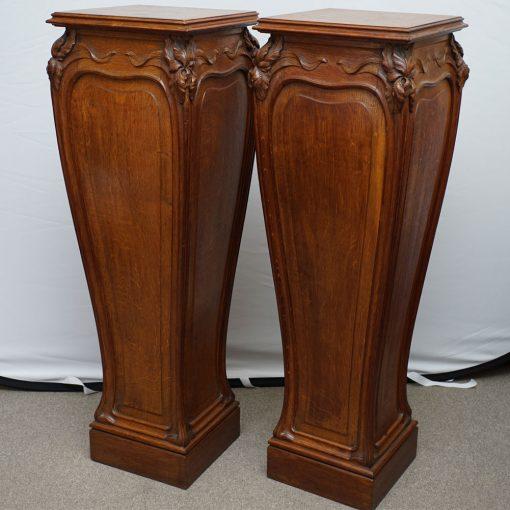 art nouveau pedestals2