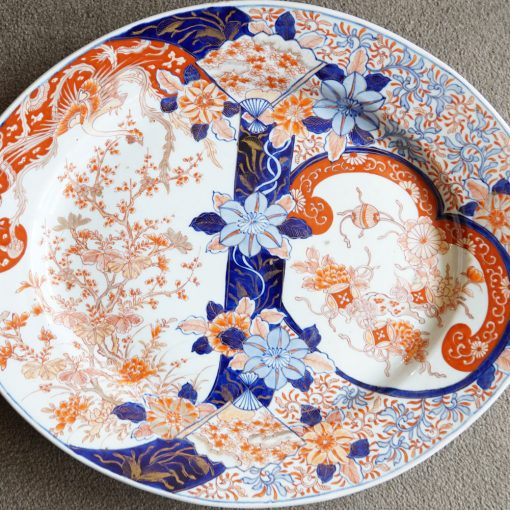 Imari oval platter2