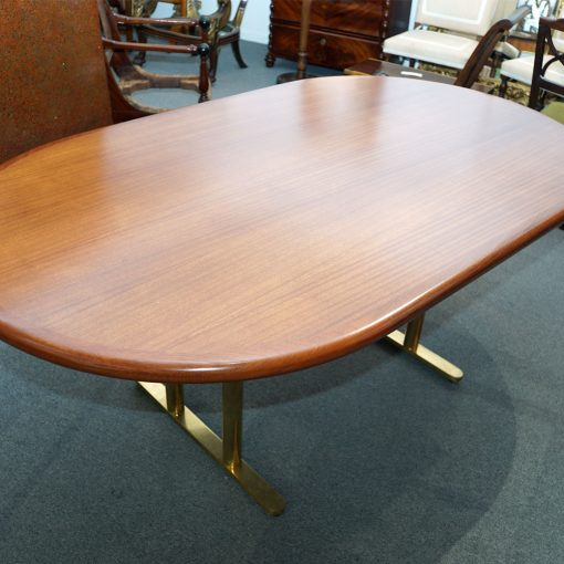 vintage dining table1