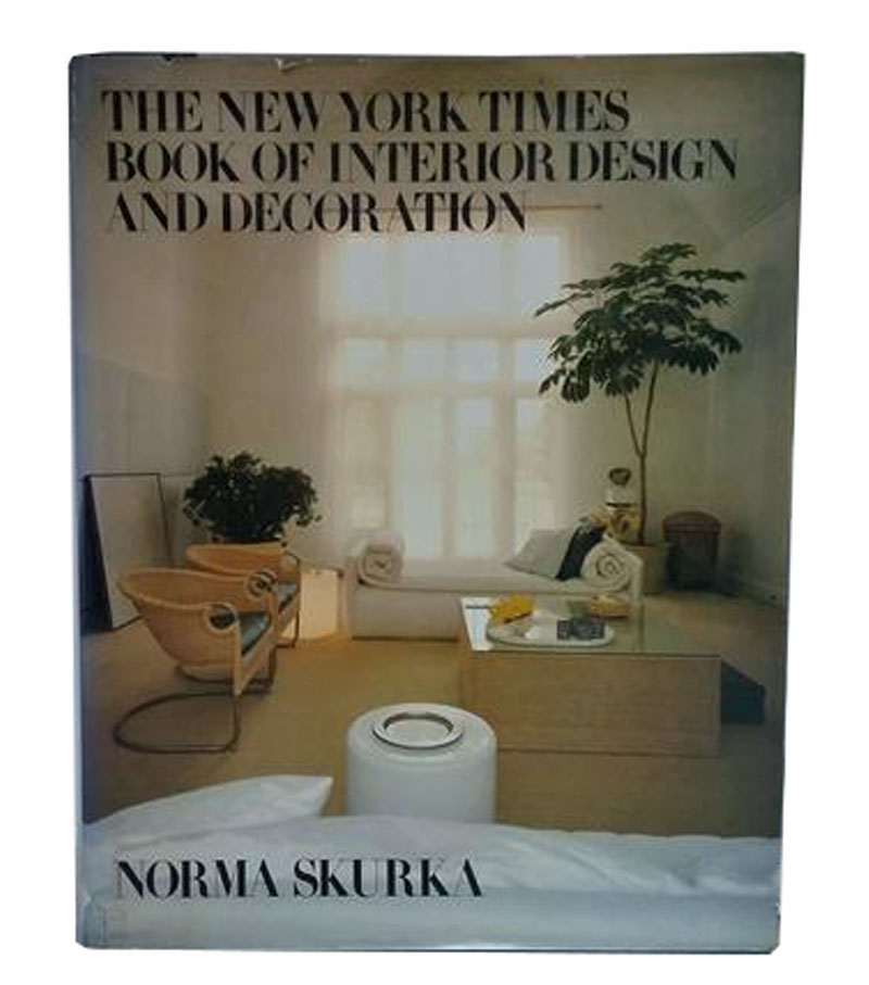 Do you have a favorite design book matthew patrick smyth fav bo the new york times book of interior design and decoration by norma
