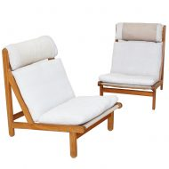 teak lounge chairs