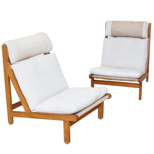 teak lounge chairs