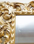 Italian gilt wood mirror5