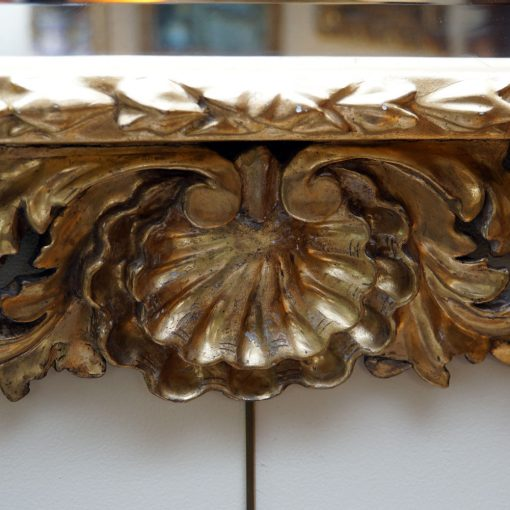 Italian gilt wood mirror3