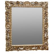 Italian gilt wood mirror