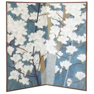 Japanese floral screen