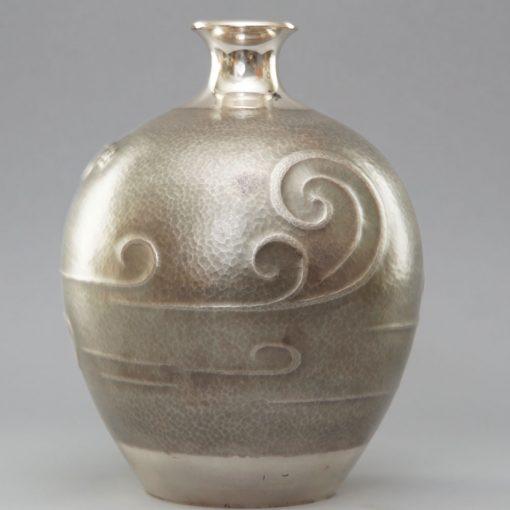 Taisho silver vase3