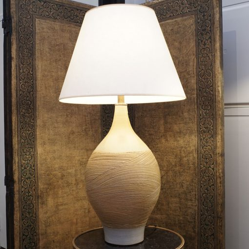 pottery lamp2