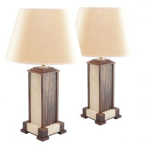 shagreen lamps