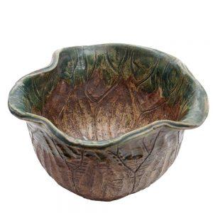 shigaraki leaf bowl