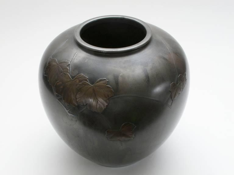 Japanese Bronze Vase Sutter Antiques Hudson Ny