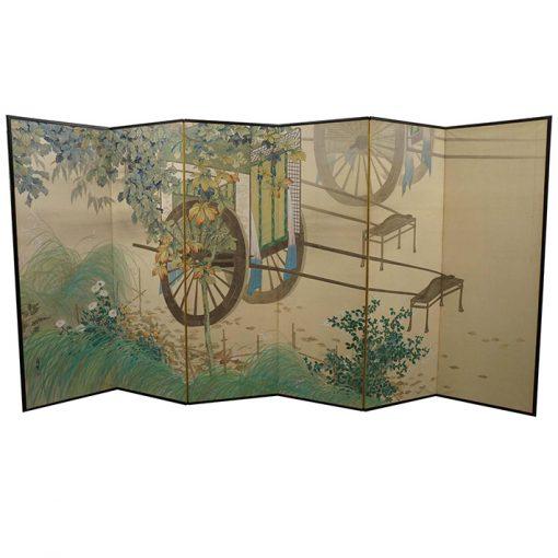 Japanese rickshaw screen