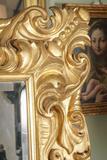 florentine mirror detail