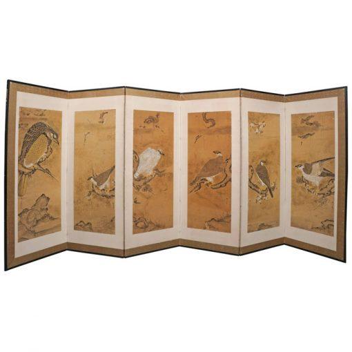 japanese hawks screen