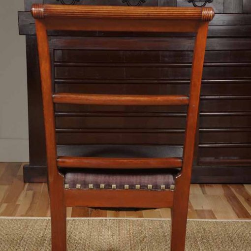 Dining chair rear view