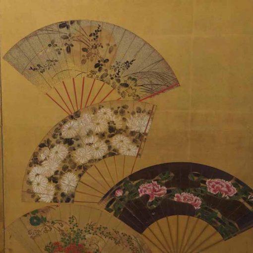 Japanese fan screen 2